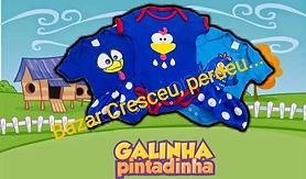 Bodies Galinha Pintadinha