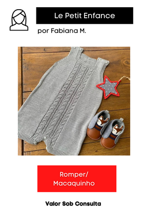 Romper /Macaquinho