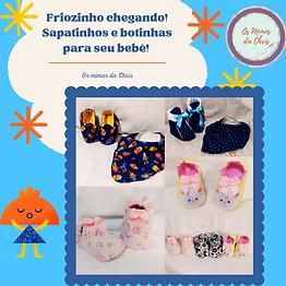 Sapatinhos de inverno para bebês