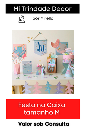 Festa na Caixa | Tamanho M