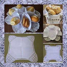 Paninho de pão e biscoiteira