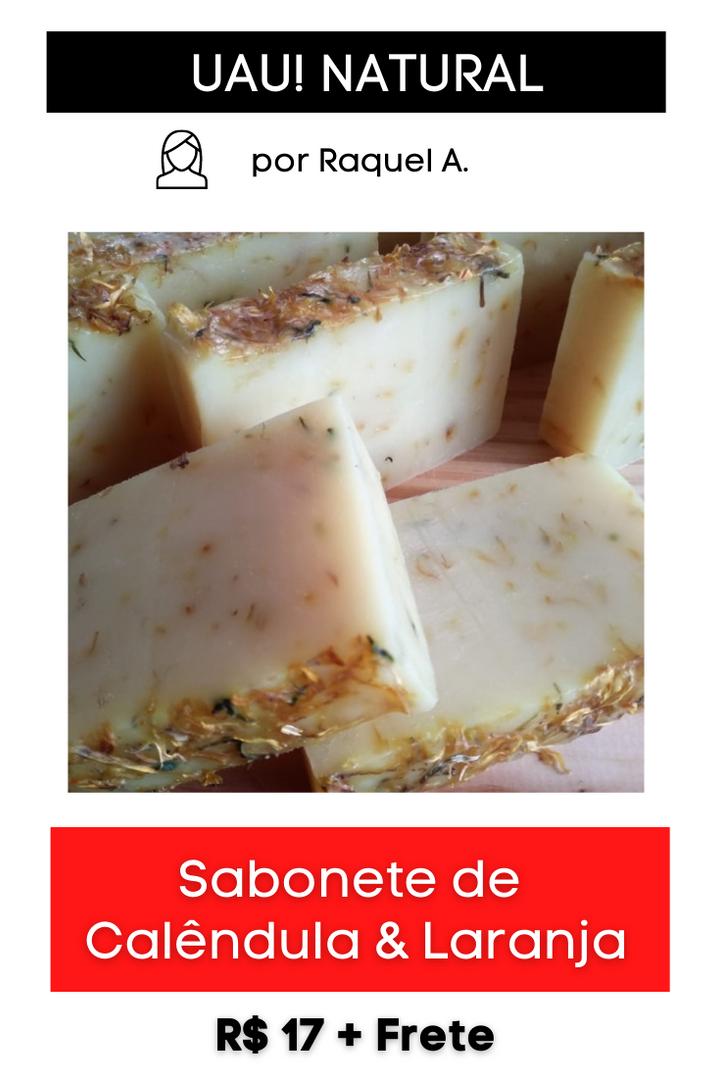 Sabonete de Calêndula & Laranja