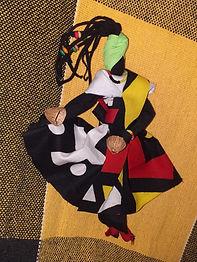 Abayomi Dançarina de Côco de Roda