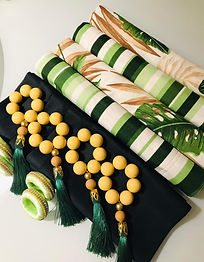 Itens para Mesa Posta: Tons de Verde