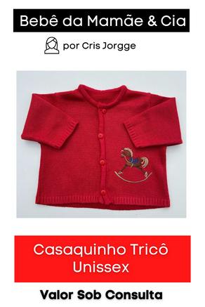 Casaquinho Tricô Unissex