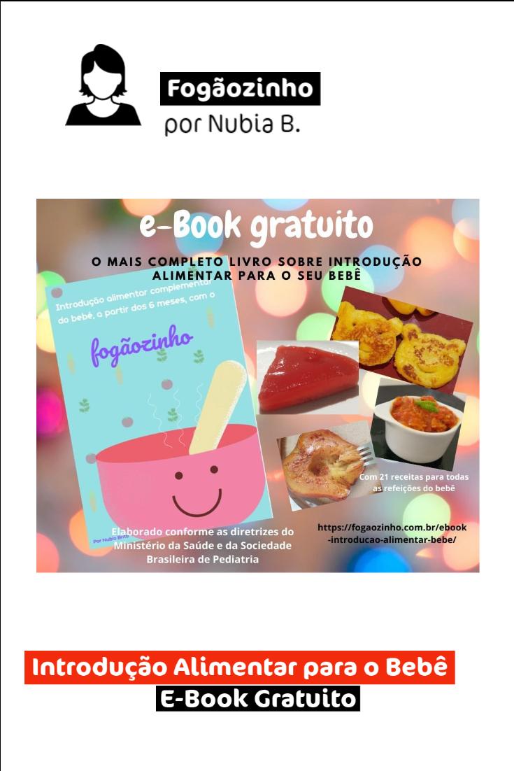 E-Book Gratuito: Introdução Alimentar para o Bebê