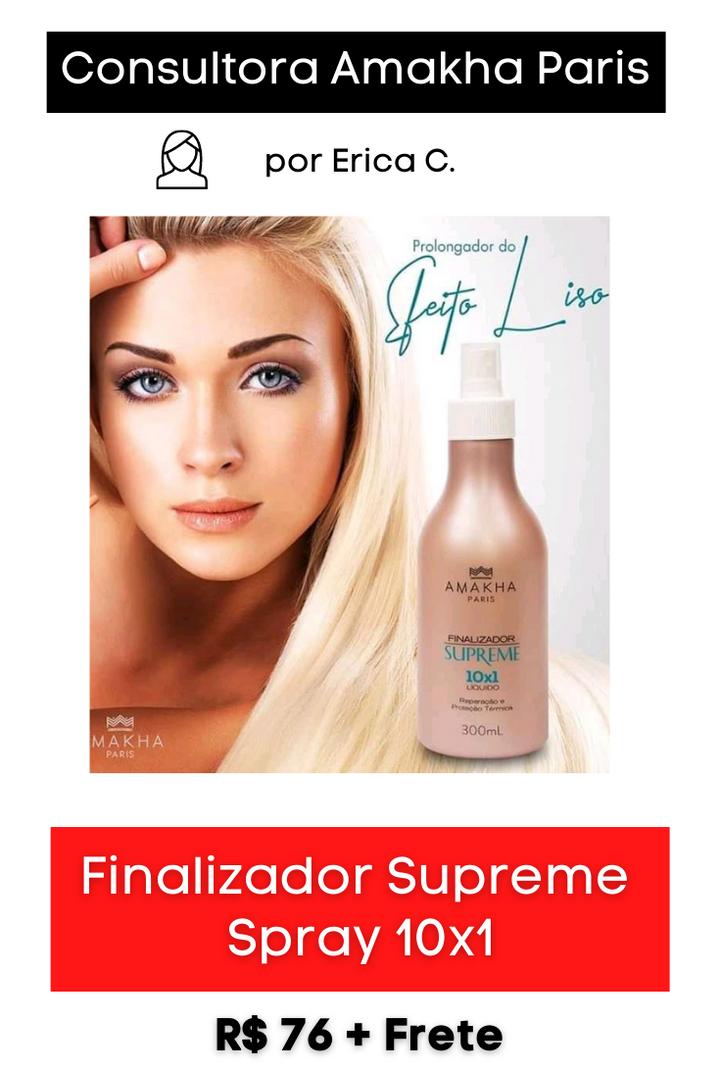 Finalizador Supreme Spray 10x1