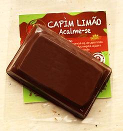 Barrinha Chocolate Vegano com óleos essenciais - 25gr