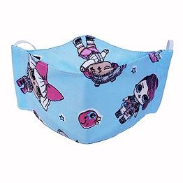 Kit 10 Máscaras Infantis Menina