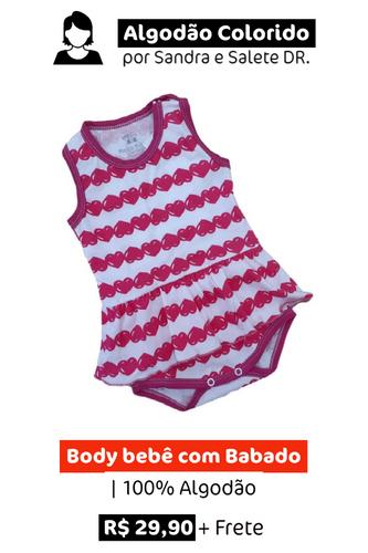 Body Bebê com Babado