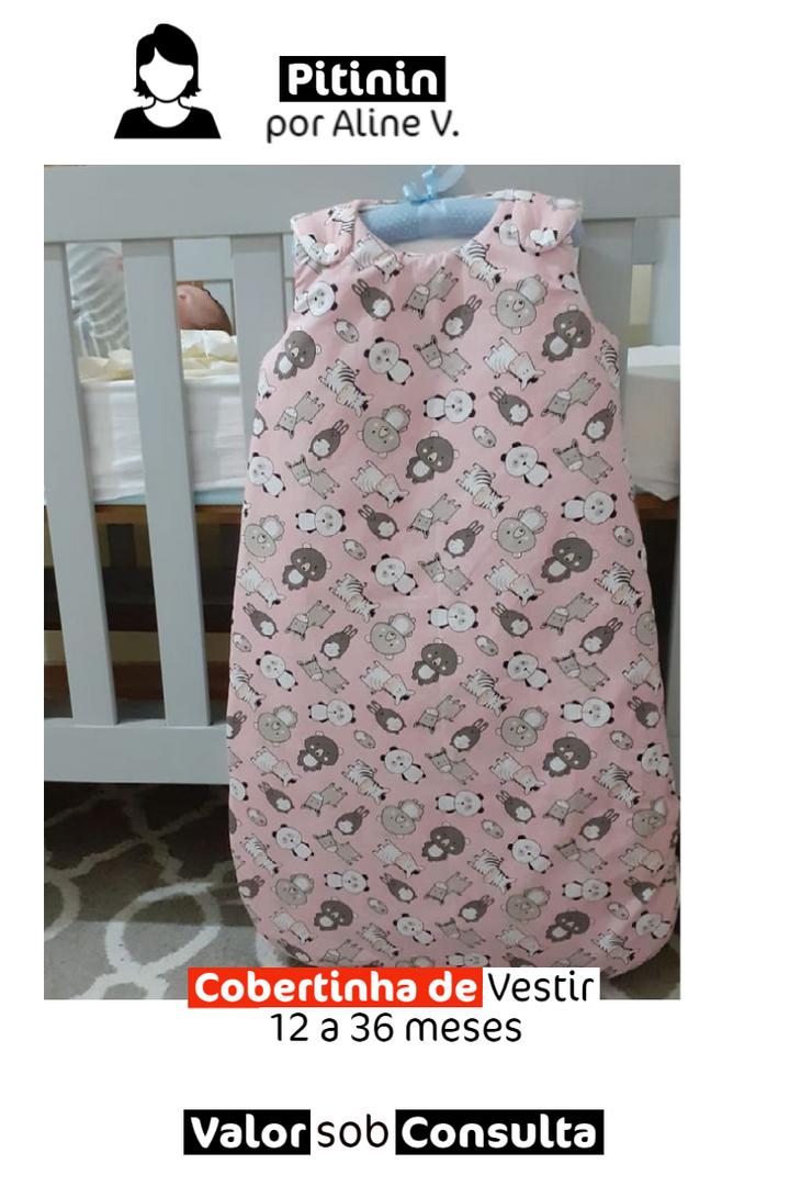 Cobertinha de Vestir | 12 a 36 meses