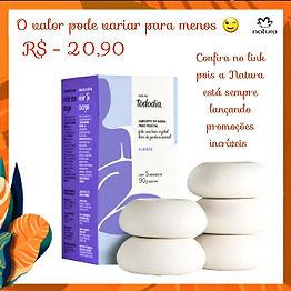 Sabonete em Barra Algodão Tododia