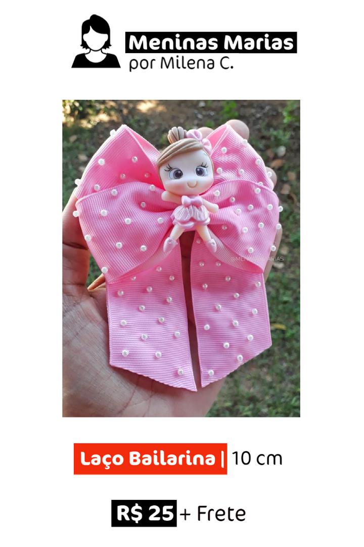 Laço Bailarina   10 cm