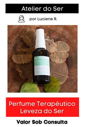 Perfume Terapêutico: Leveza do Ser
