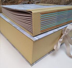 Kit Caixa e Álbum de Fotos