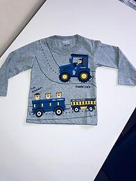 Camiseta Manga Longa Menino