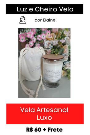 Vela Artesanal Luxo