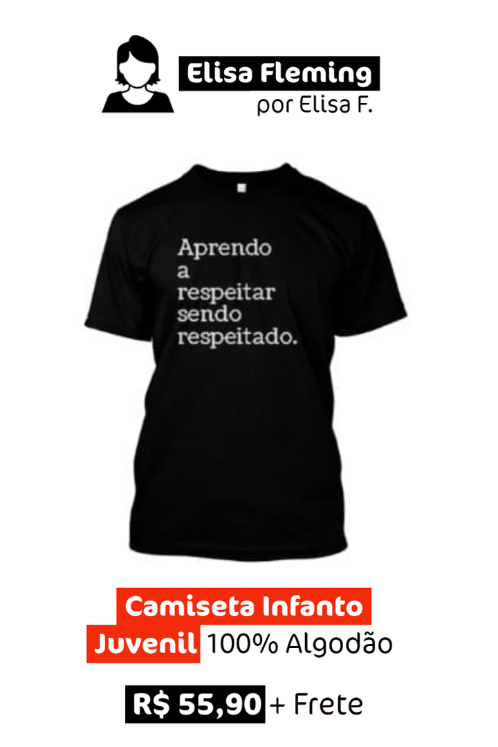 Camiseta Infanto Juvenil