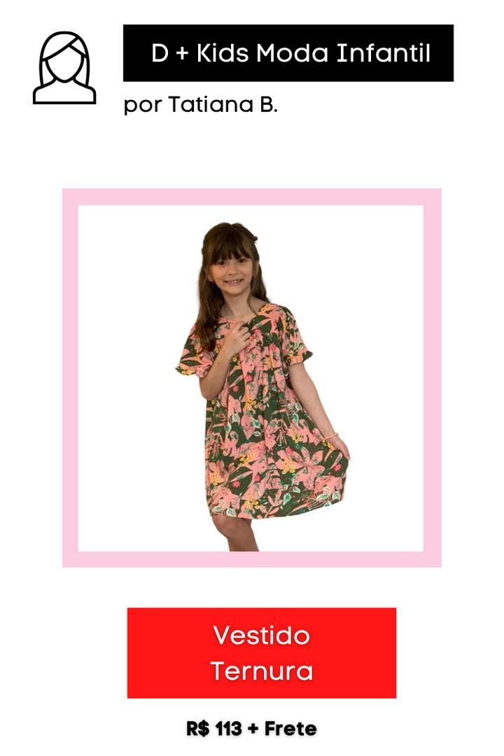 Vestido Ternura | Levinho para o Verão