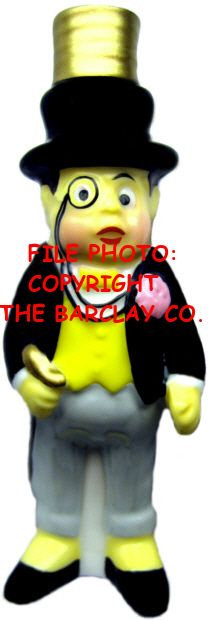 "#BC-053 - Palmer Cox Brownies ""Milk Glass"" Bulb Cover - Brownie ""The Dude"""