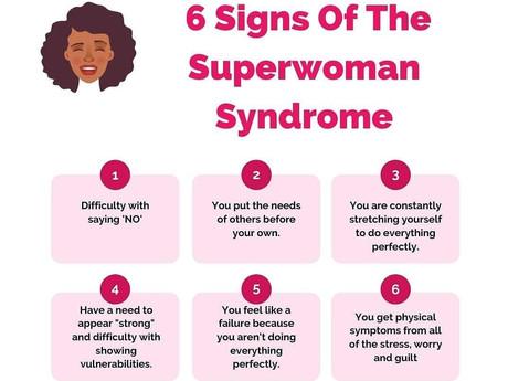 THE SUPERWOMAN MYTH/TRAP