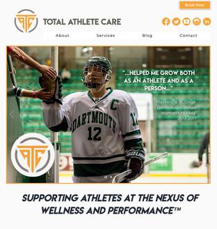 Total Athlete Care Website