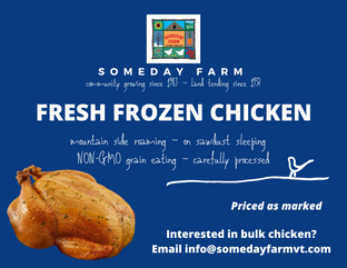 Someday Farm Product Flyers