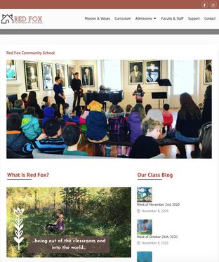 Red Fox Community School Website