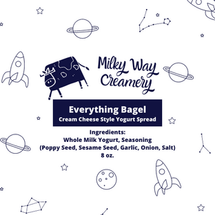 Milky Way Creamery Product Labels