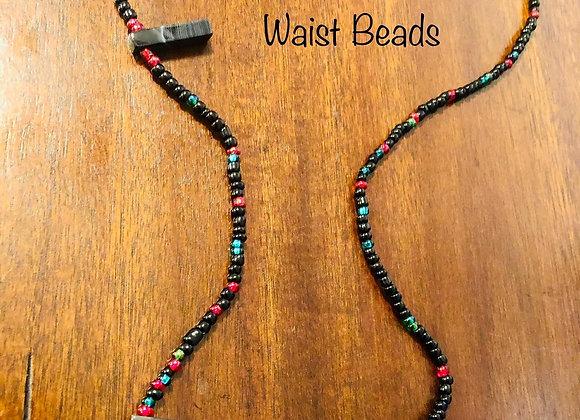 Custom waist beads with gems (3)