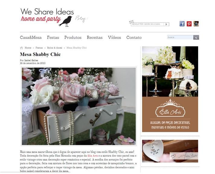 We Share Ideas