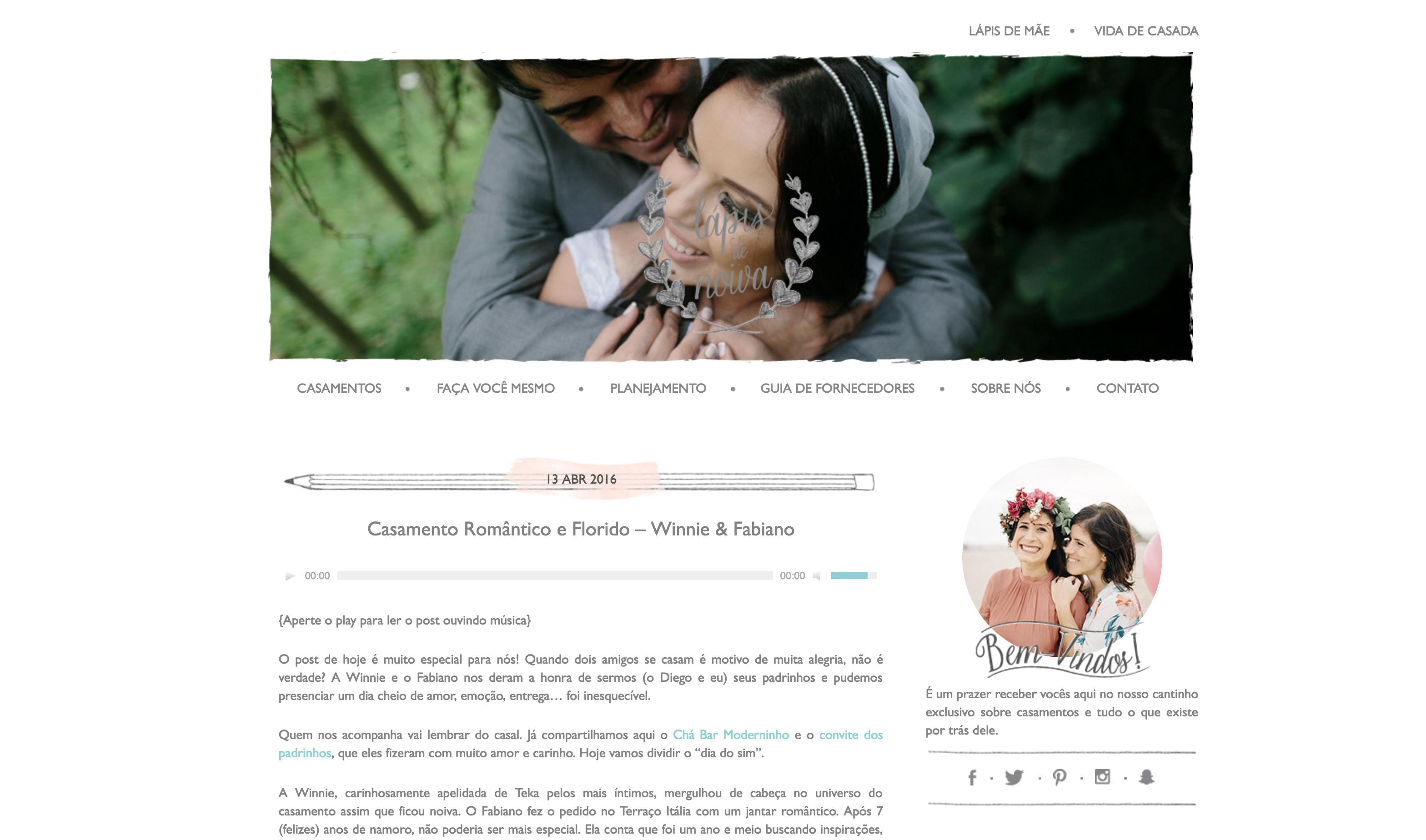 Blog Lapis de Noiva