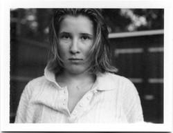 Polaroid bw Julie III