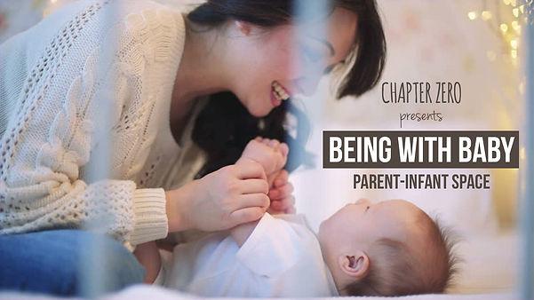 parenting, cargiving, caregiver, baby, lying down, smiling
