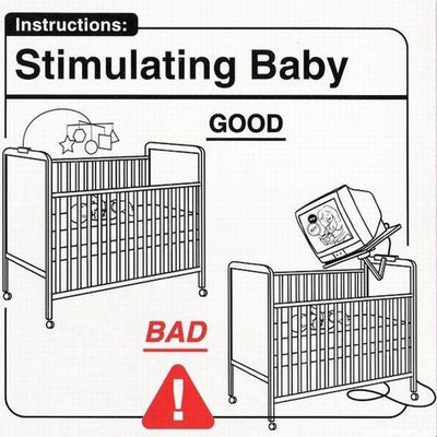 Chapter Zero Singapore | Help I Have A Baby! | Image from Safe Baby Handling Tips by David and Kelly Sopp (ISBN 0762424915)