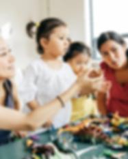 multi-racial-mothers-kids-children-playd