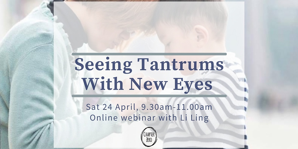 Seeing Tantrums With New Eyes
