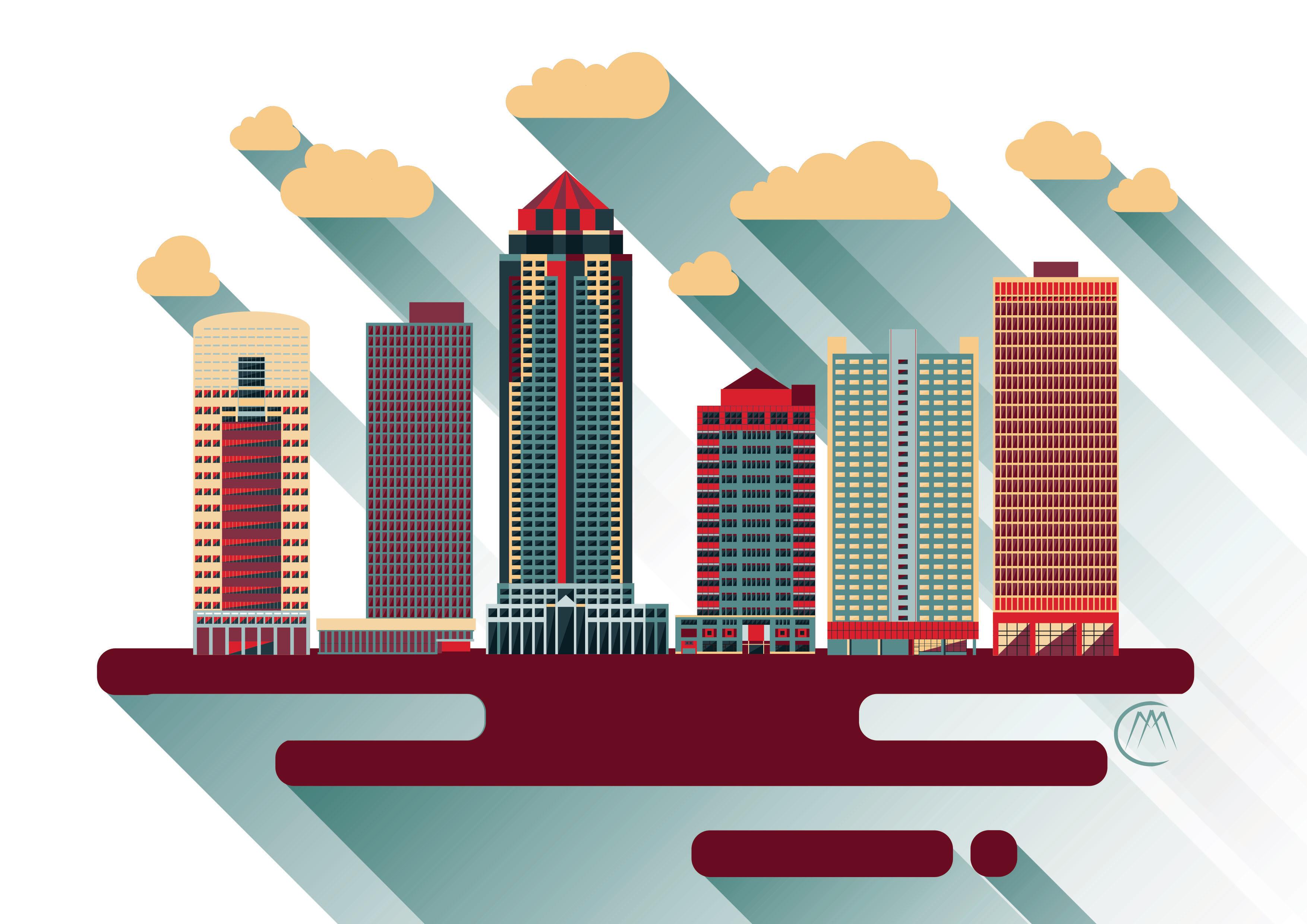 Des Moines Cityscape 1