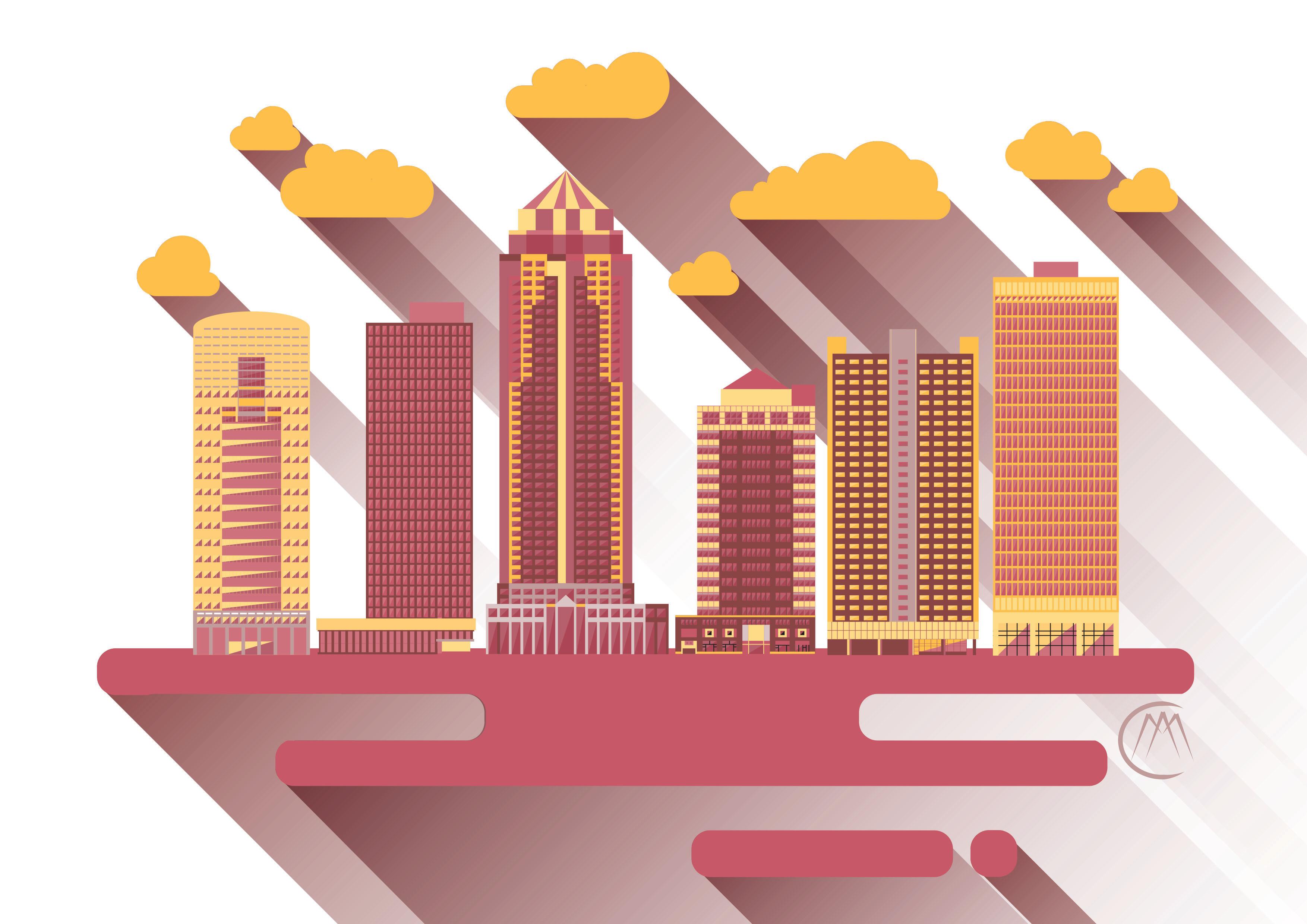 Des Moines Cityscape 3