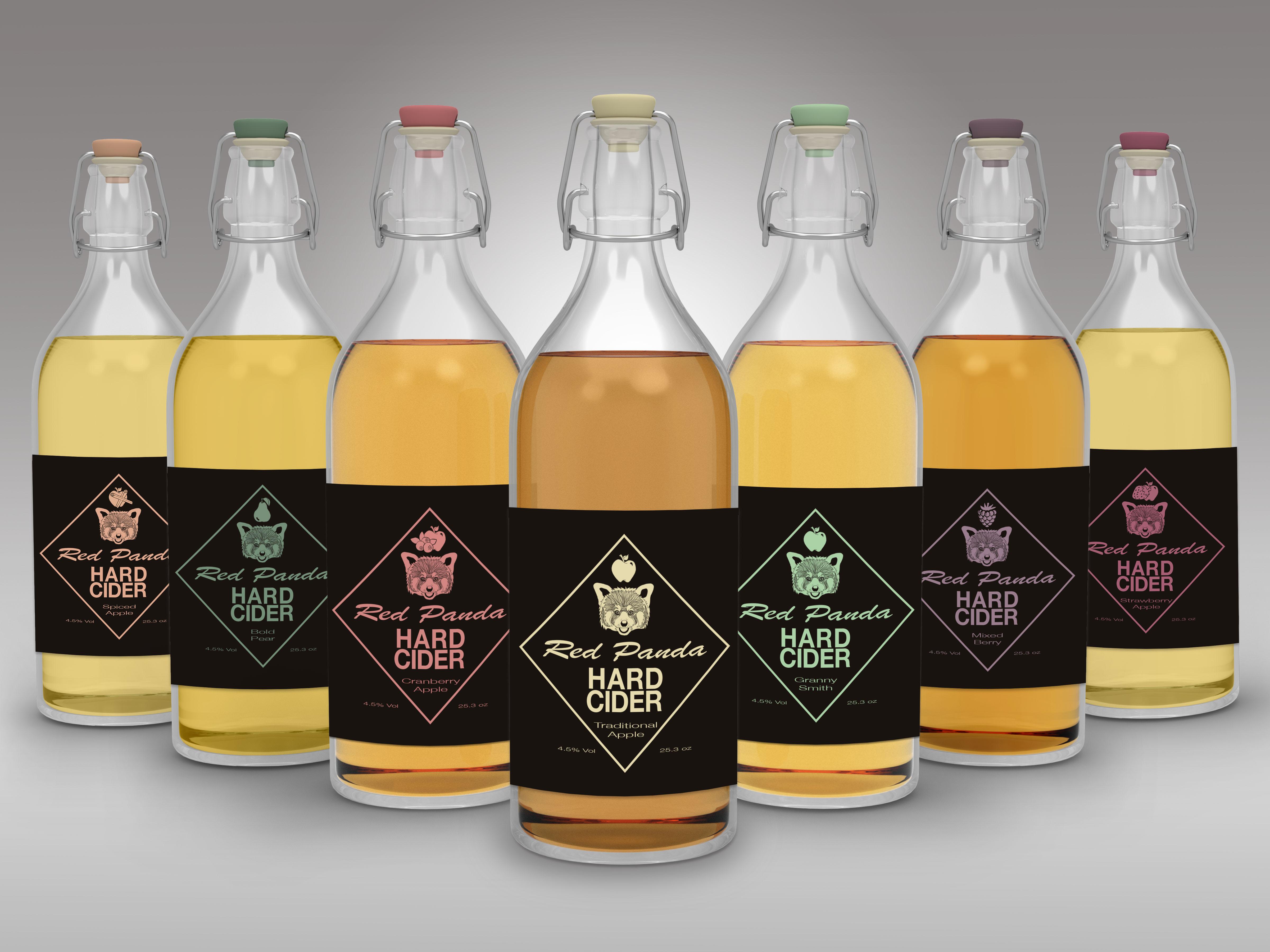 Hard Cider Mock Up: Full Set