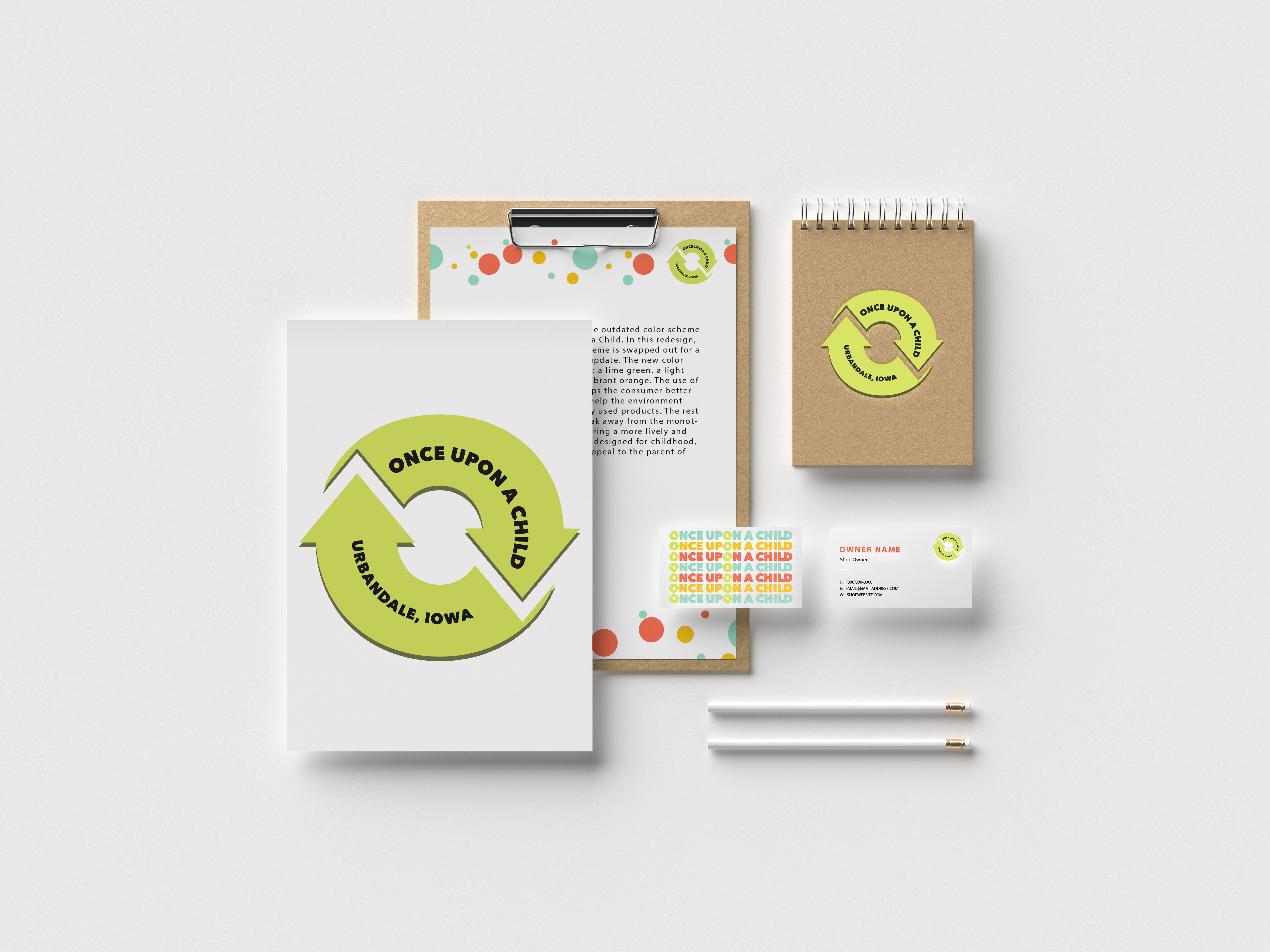 OUAC Branding Redesign Mockup
