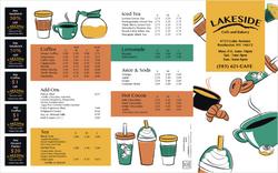 Lakeside Cafe Side 1