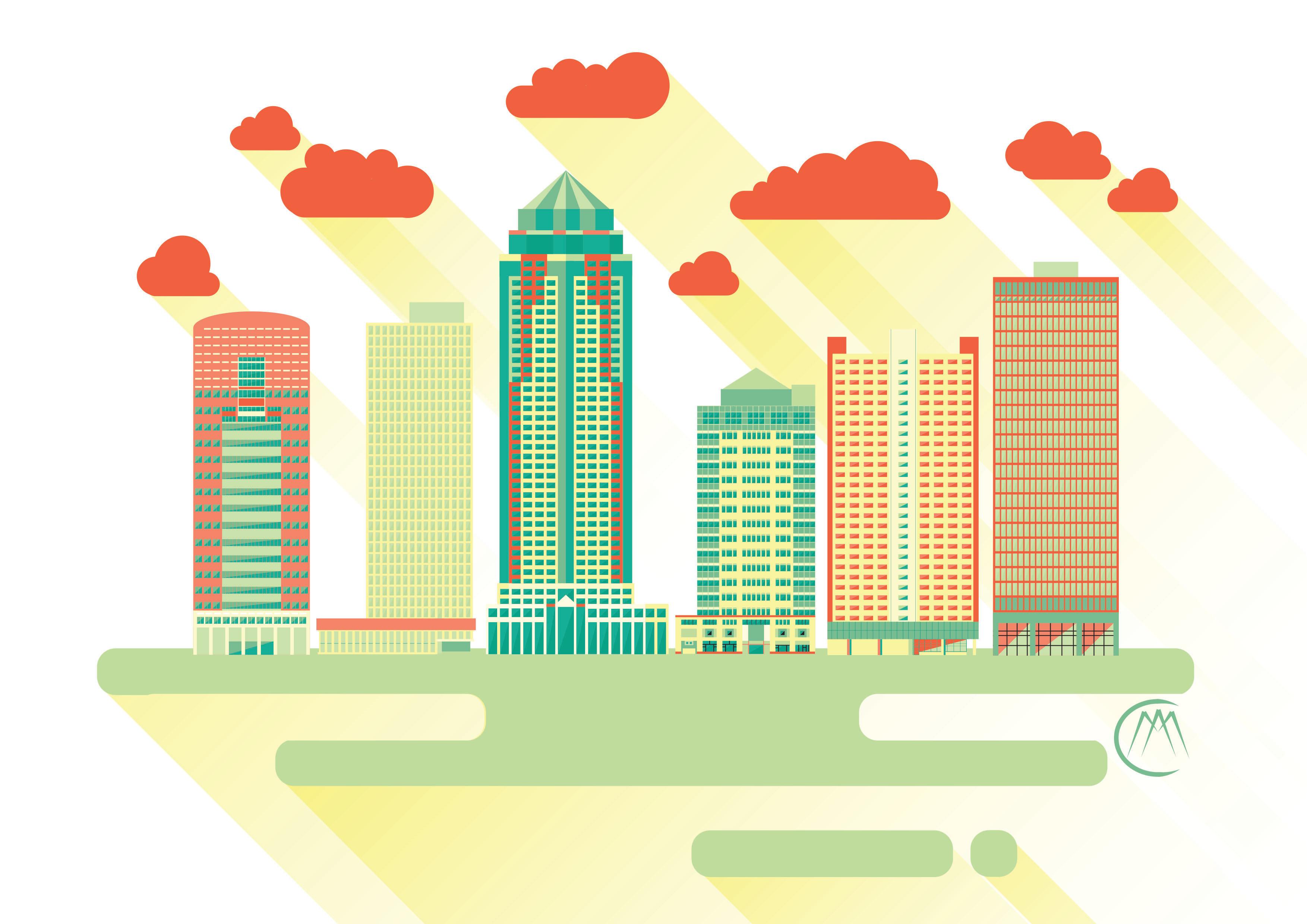 Des Moines Cityscape 5