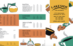 Lakeside Cafe Detail 1