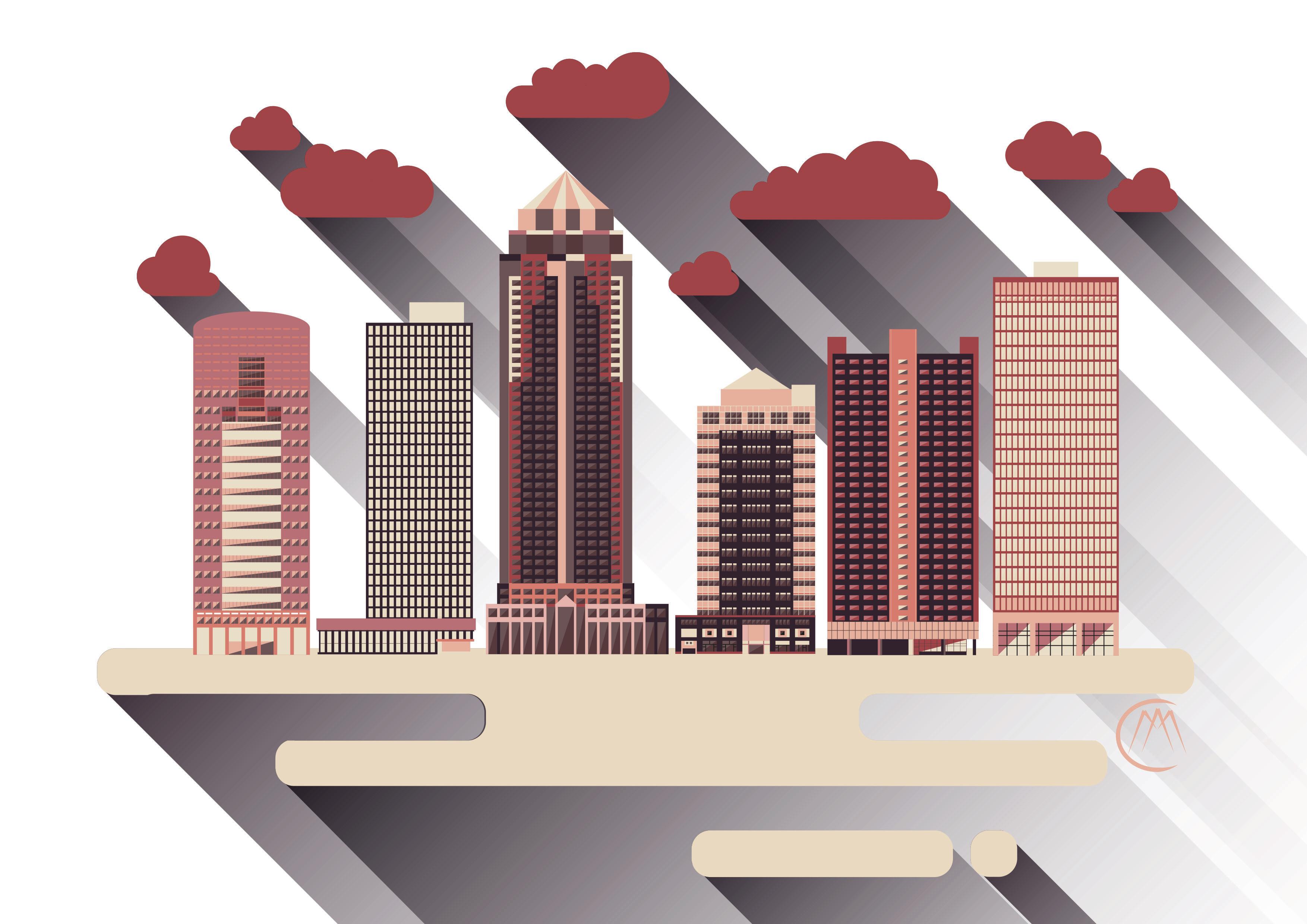 Des Moines Cityscape 2