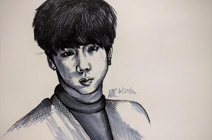 Kim Seokjin Copic Study