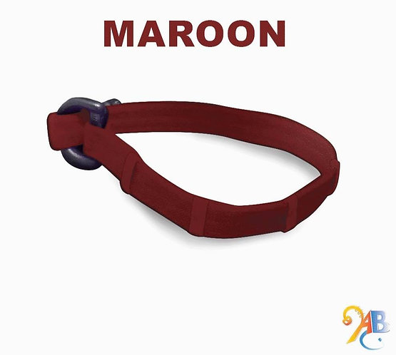 """All Maroon"" Adjustdabands"