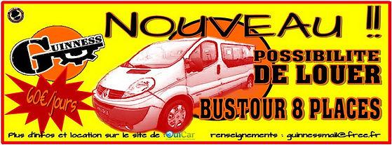 Location Bustour 8 Places Chalon sur saone
