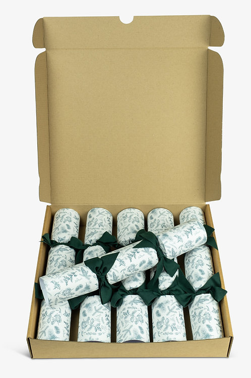 Eco Christmas crackers from The Little Green Cracker Company