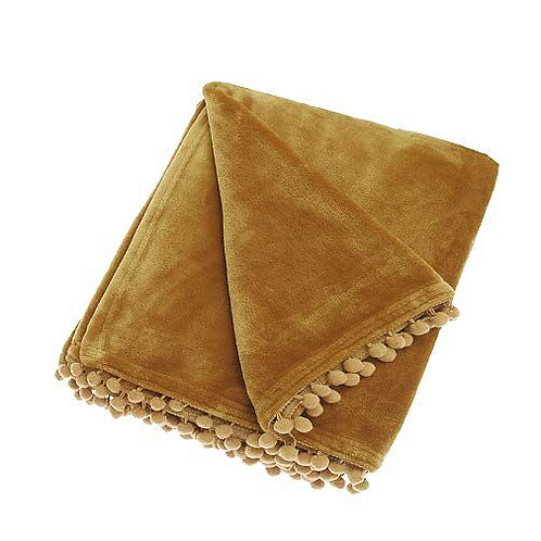 Waltons of Yorkshire Honeycomb Cashmere Touch Throw